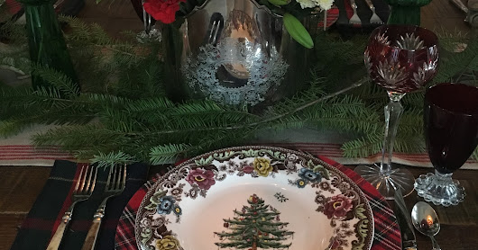 Better Late Than Never: Two Christmas Tablescapes in Review