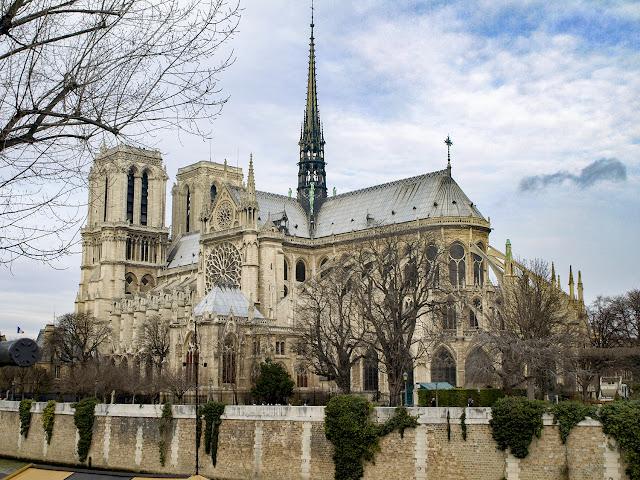 Catedral de Notre Dame vista desde el Quai de Montebello, París  por El Guisante Verde Project