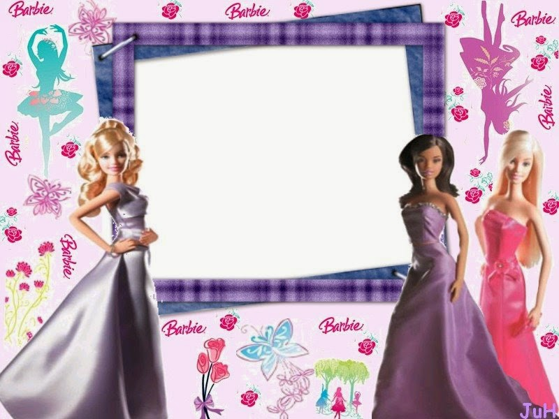 Barbie: Free Printable Photo Frames. | Oh My Fiesta! in english