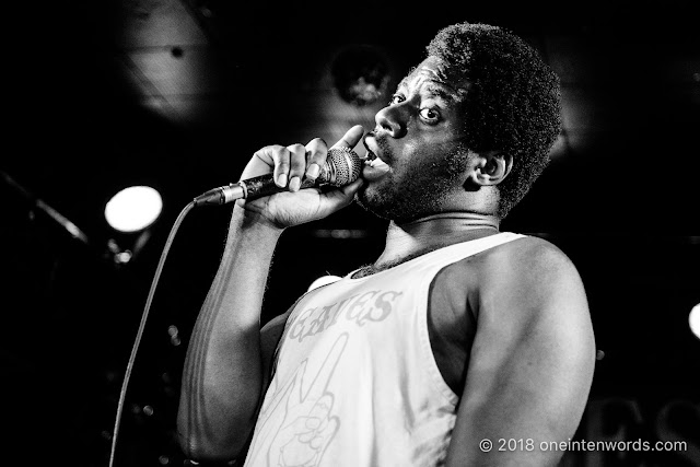 Nnamdi Ogbonnaya at The Legendary Horseshoe Tavern on May 14, 2018 Photo by John Ordean at One In Ten Words oneintenwords.com toronto indie alternative live music blog concert photography pictures photos