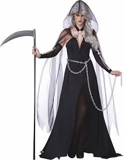 Sexy female reaper