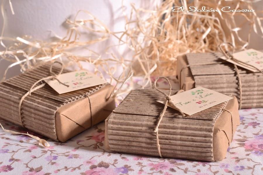detalles para bodas rusticas jabones caseros