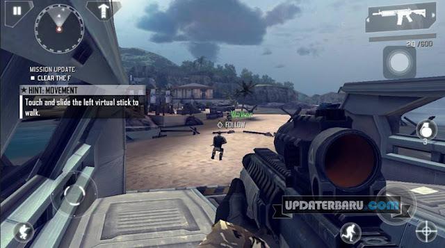 Modern Combat 4: Zero Hour v1.2.2e Mod Apk Data Suport Offline