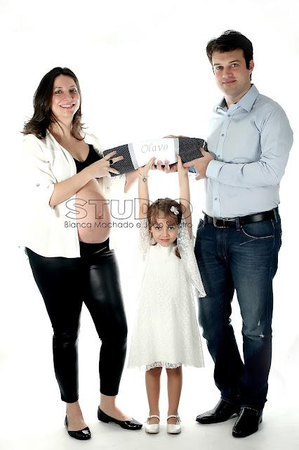 fotografias de gestante com familia