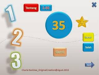 media pembelajaran interaktif vba powerpoint pengenalan angka