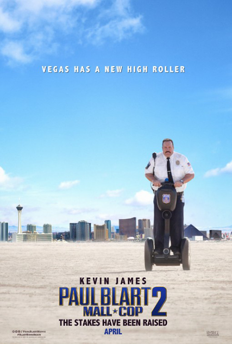 Kevin James în primul poster Paul Blart: Mall Cop 2