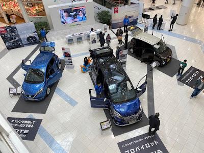 日産車両展示 in イオンレイクタウンkaze