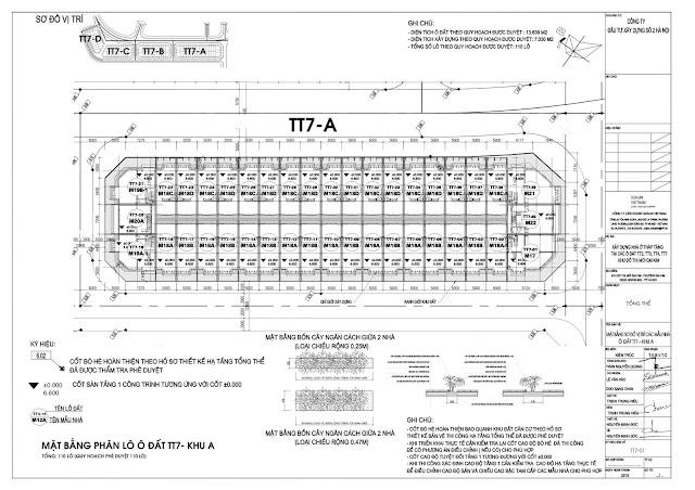 Mặt bằng lô TT7A - Athena Fulland