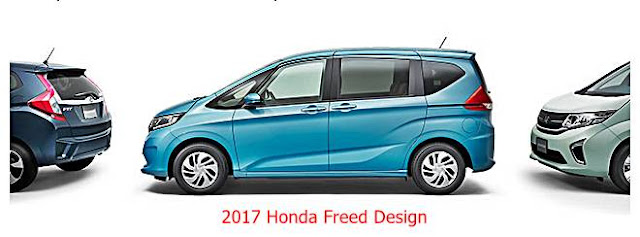 2017 Honda Freed Exterior