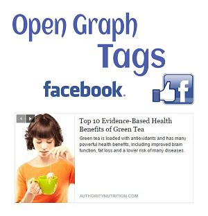 Facebook Open graph tags for blogger
