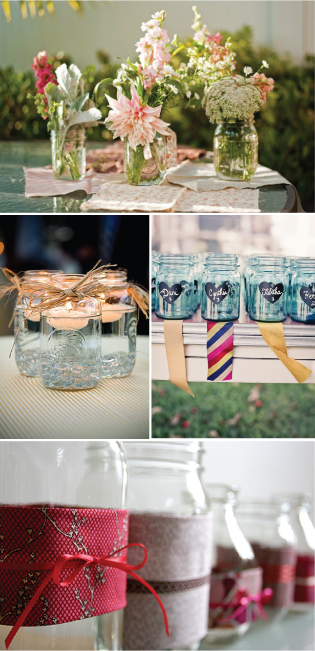 Recycle Bottle Centerpieces Belle The Magazine