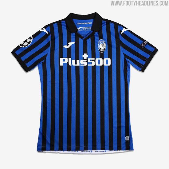 Atalanta 20-21 Champions League Kit Revealed - Footy Headlines
