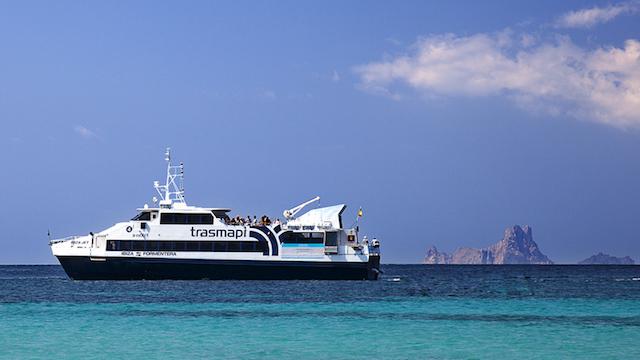 De barco de Ibiza a Formentera