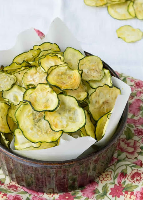 2 Sp , Salt and Vinegar Zucchini Chips , Weight Watchers Recipes