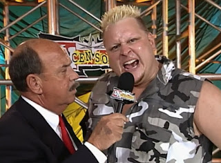 WCW Uncensored 2000 - Brian Knobs talks to Mean Gene Okerlund