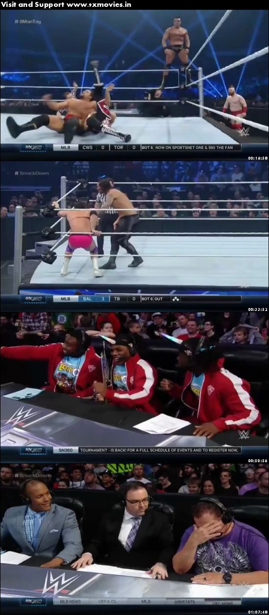 WWE Thursday Night Smackdown 28 April 2016 WEBRip 480p