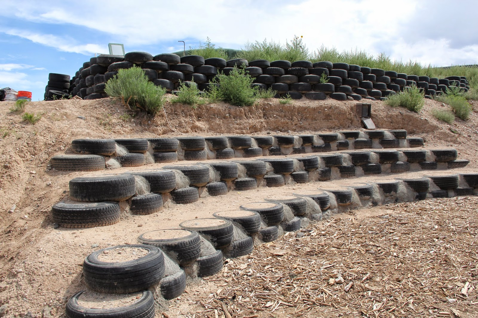 Earthship Tire Off Gassing Research Hacking The Earthship