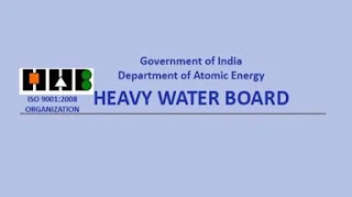 Heavy Water Board vacancy 2018