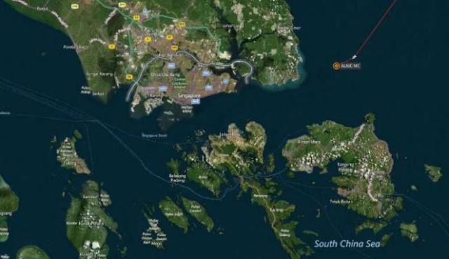 Kapal Perang AS Tabrakan di Singapura, 10 Prajurit Hilang