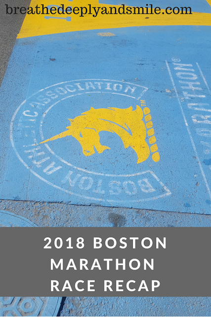 Boston Marathon 2018 Race Recap