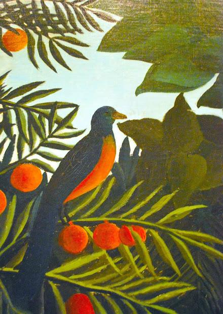 Henri Rousseau Jungle Paintings Bird