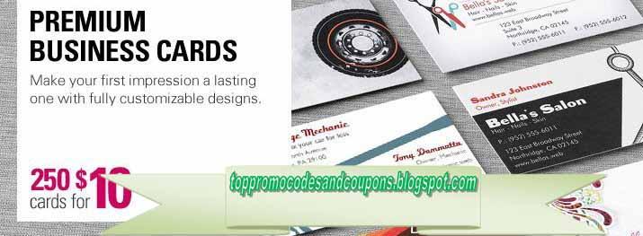 Vistaprint Business Card Coupons Choice Image - Business
