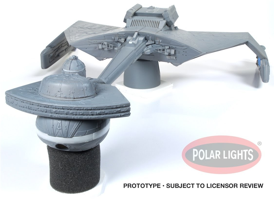 The Trek Collective: Round 2 Models reveal 1:350 K\'t\'inga class ...