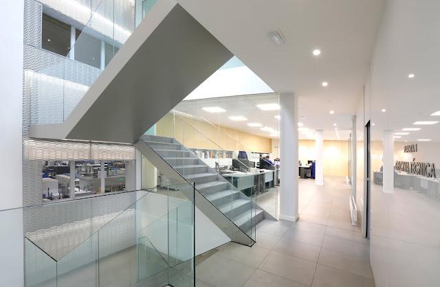 Awesome Reforma Interior Oficina Amutio Bernal Arquitectos Santander Cantabria
