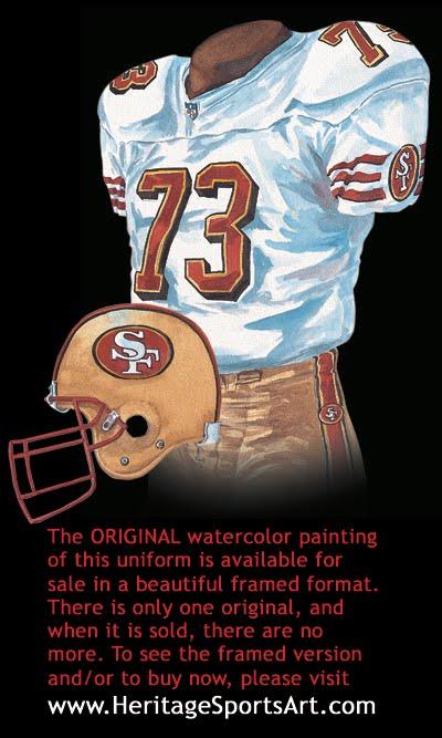 San Francisco 49ers Uniform and Team History  a0bd52148