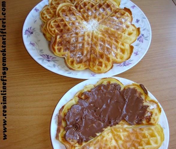 waffle nasıl yapılır
