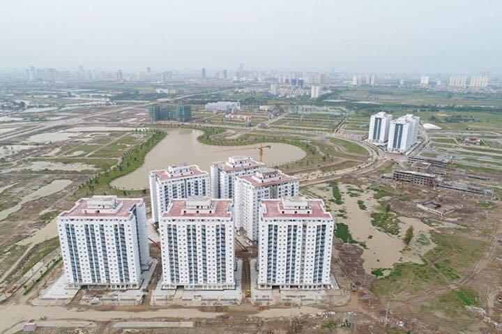 Toàn cảnh vị trí các tòa chung cư HH01 HH02 HH03 Thanh Hà Mường Thanh