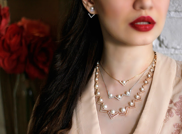 Swarovski's Mother's Day Pearl Collection 2016, Swarovski Pearl Necklaces, Pearls, Crystals, Pearl Earrings