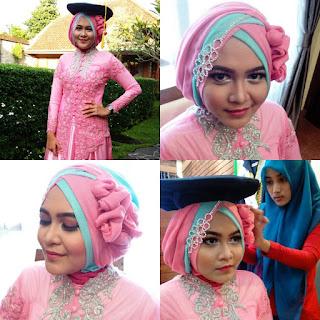 Model Hijab Kebaya untuk Wisuda
