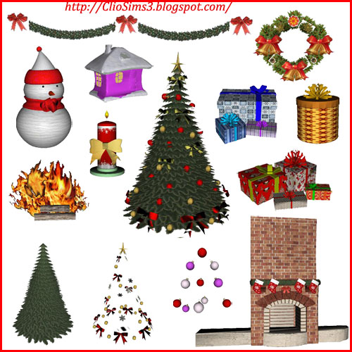 My Sims 3 Blog: New Christmas Set By Dada