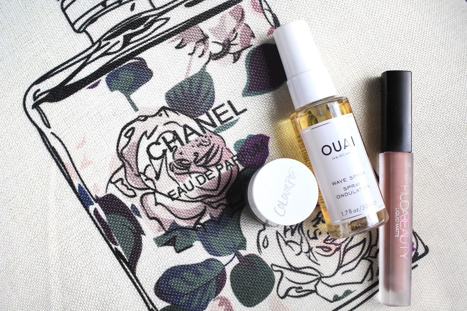 The Beauty Rundown September 2017 - ColourPop, Ouai, Huda Beauty