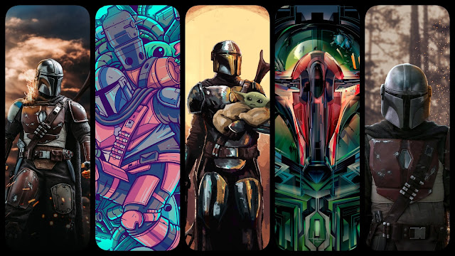 The Mandalorian Background Wallpapers