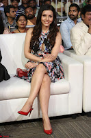 Kyra Dutta in a Deep neck Small Dress at Shamanthakamani pre release function ~  Exclusive 061.JPG
