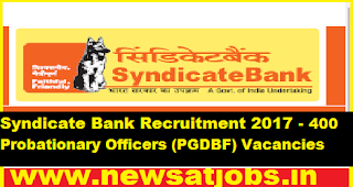 Syndicate-Bank-Recruitment-2017-400-Probationary-Officers (PGDBF)