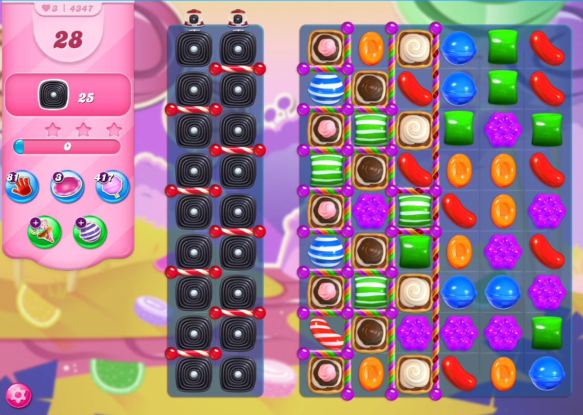 Candy Crush Saga level 4347