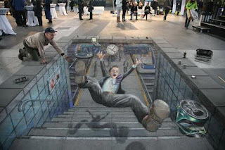 Clickbait lukisan mural.