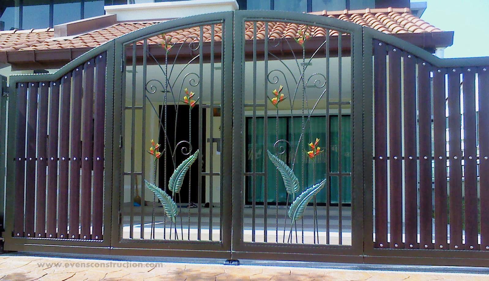 Evens Construction Pvt Ltd Compound Walls And Gates