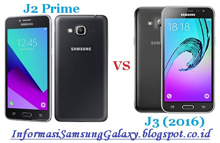 Harga dan Spesifikasi Samsung Galaxy J2 Prime vs J3 (2016)