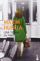 Una tienda en París, Máxim Huerta