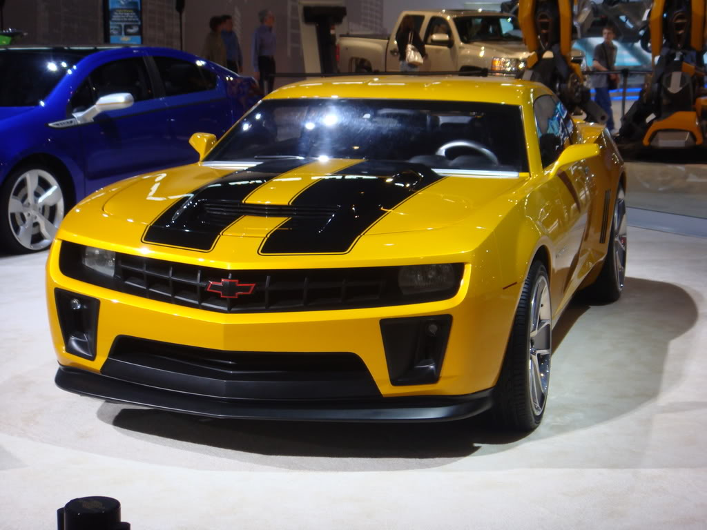 Transformers Cars: Hot Cars: Transformers Chevrolet Camaro Bumblebee