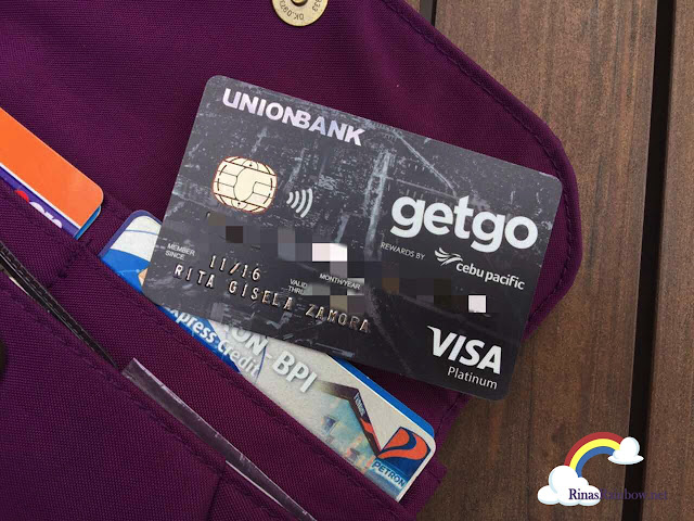 co-branded Cebu Pacific GetGo Visa Credit Cards by UnionBank