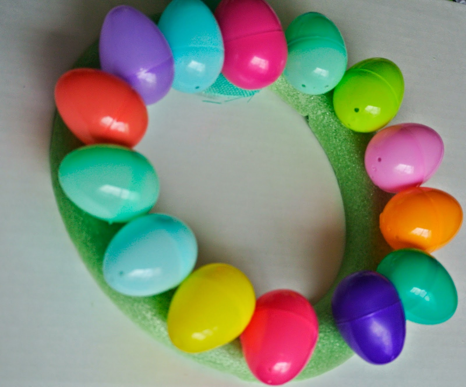Plastic Eggs, Crafts, Home Decor