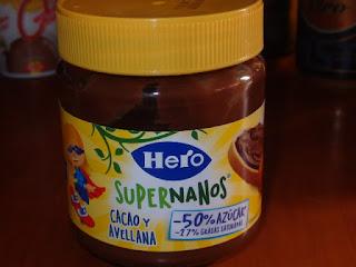 Crema Cacao y Avellanas