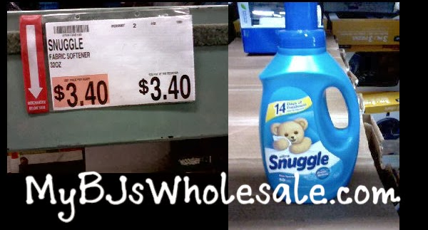 Snuggle Liquid Fabric Softener Just .40 After Coupon at BJs