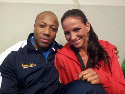 Shawn Rhoden and Frida Harvath