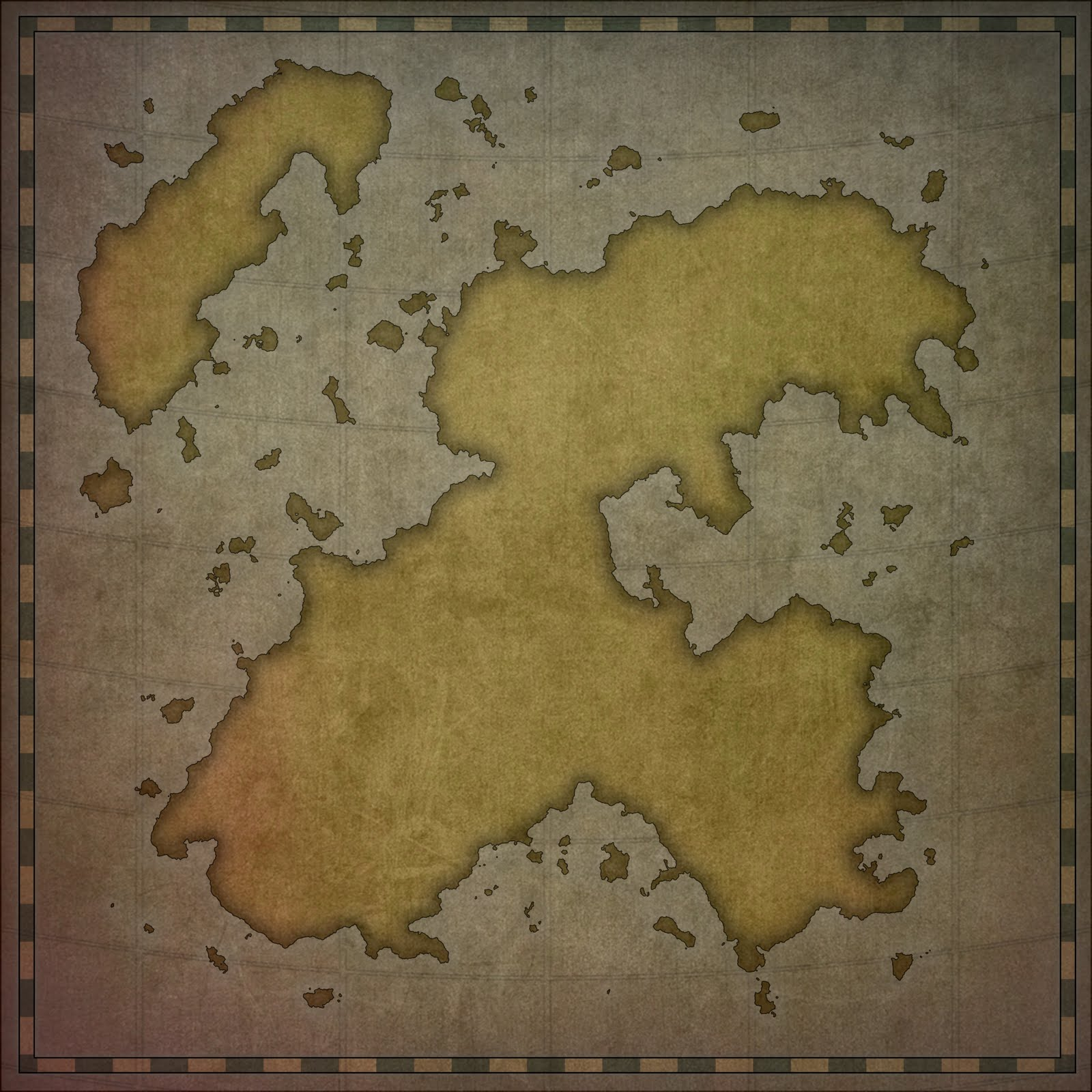 Paid Fantasy D D Continent Map Commission